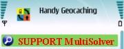 cache podporuje funkci MultiSolver aplikace Handy Geocaching